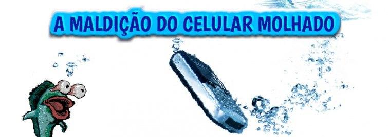 celular molhado
