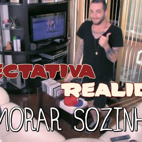 MORAR SOZINHO EXPECTATIVA REALIDADE 2