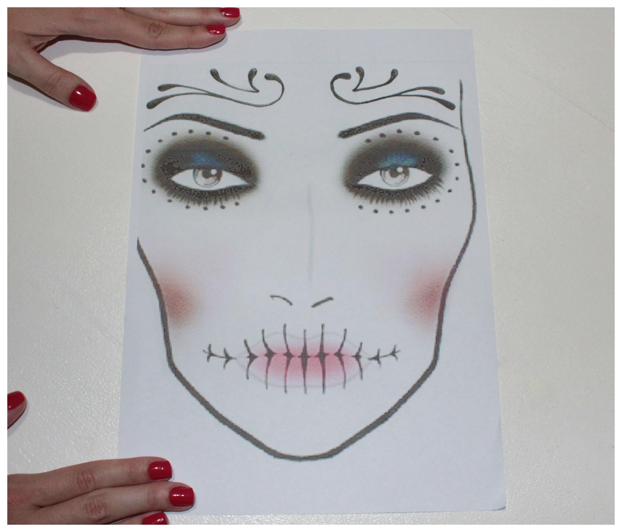 Maquiagem Para Halloween Dia De Los Muertos Mac