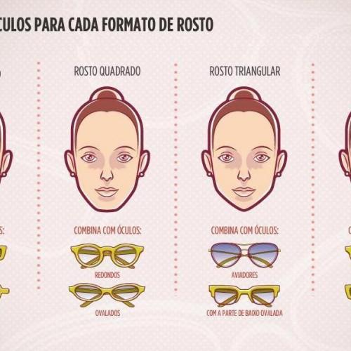Cartilha. Qual óculos é melhor para cada formato de rosto ... 9a213c715b