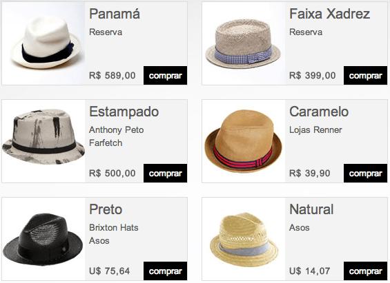 e405586142089 Fedora e Panamá Masculino  PraVestir (stealhislook.com.br)