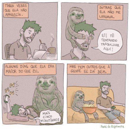 a preguiça