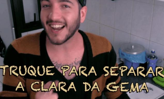 SEPARAR A CLARA DA GEMA COM GARRAFA PET VIDA DE SOLTEIRO