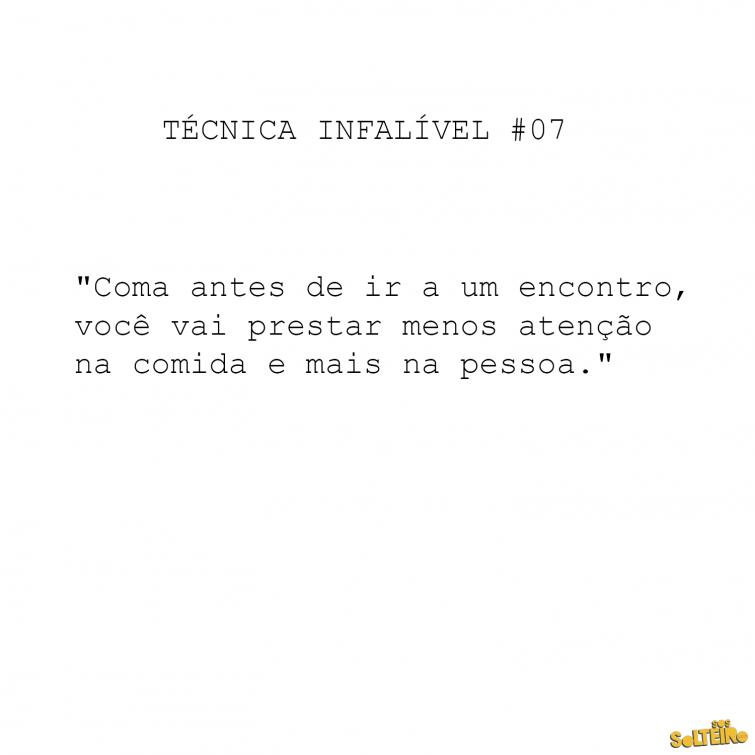 TECNICAS INFALIVEIS 7