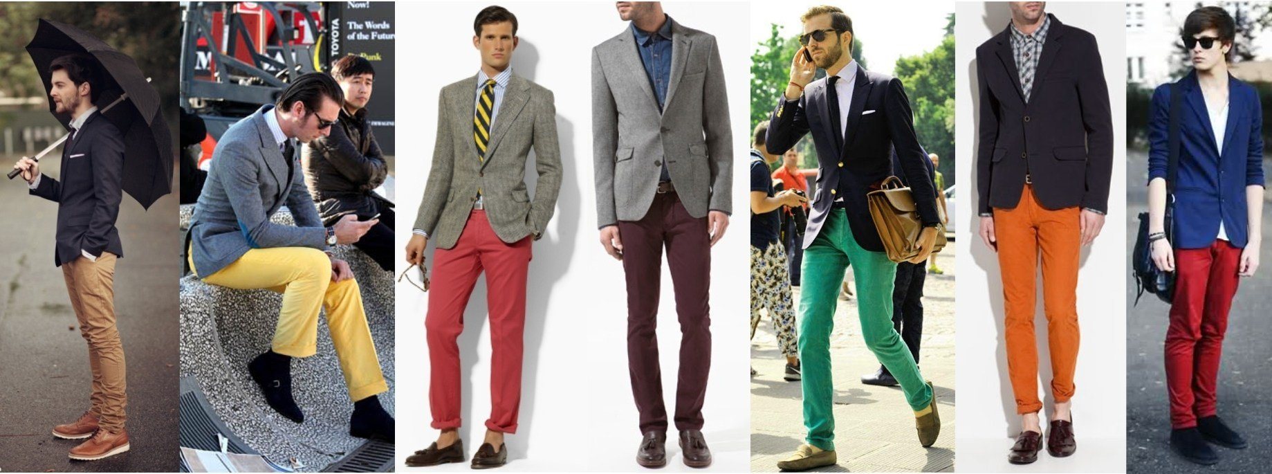 blazer_preto_cinza_marinho_calças_coloridas_pra_vestir