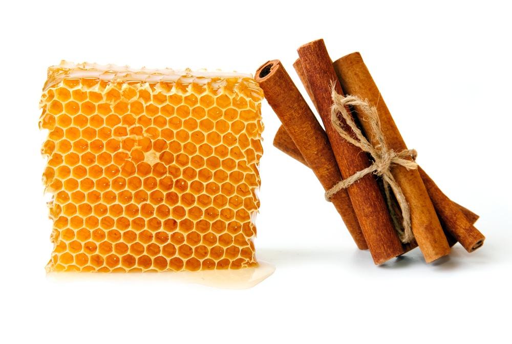 acne mel e canela
