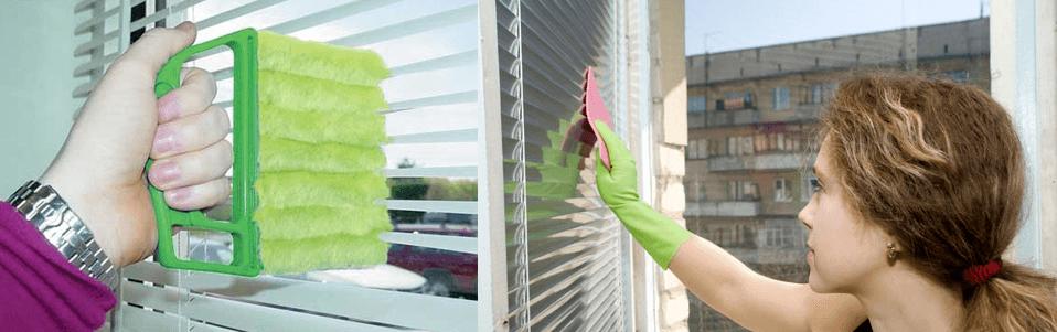 limpar persianas