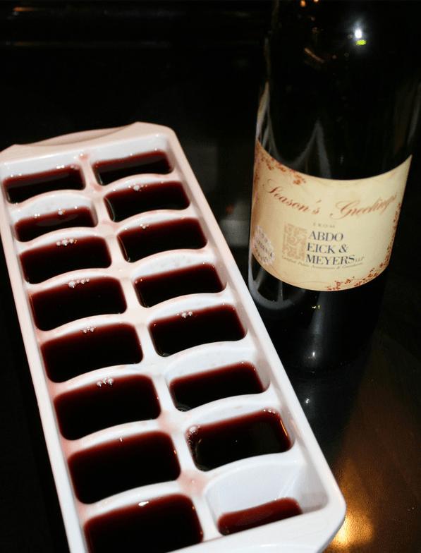 reaproveite o vinho