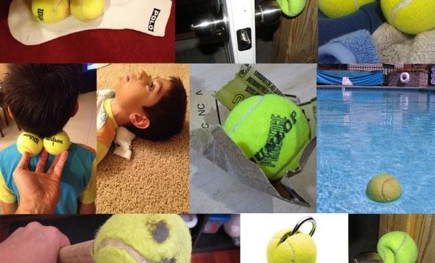 23 usos para bolinha de tenis