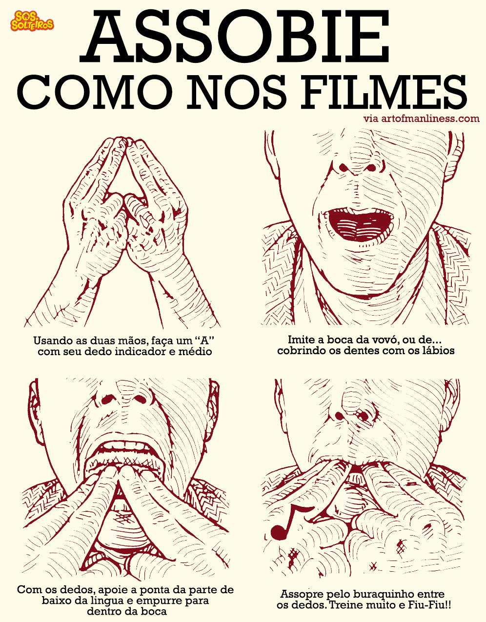 como assobiar alto com dedos filmes