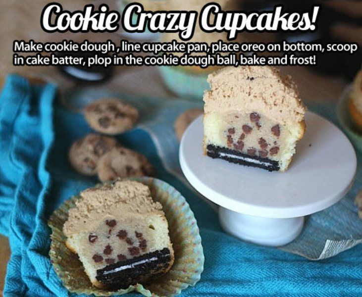cookie crazy cupcakes