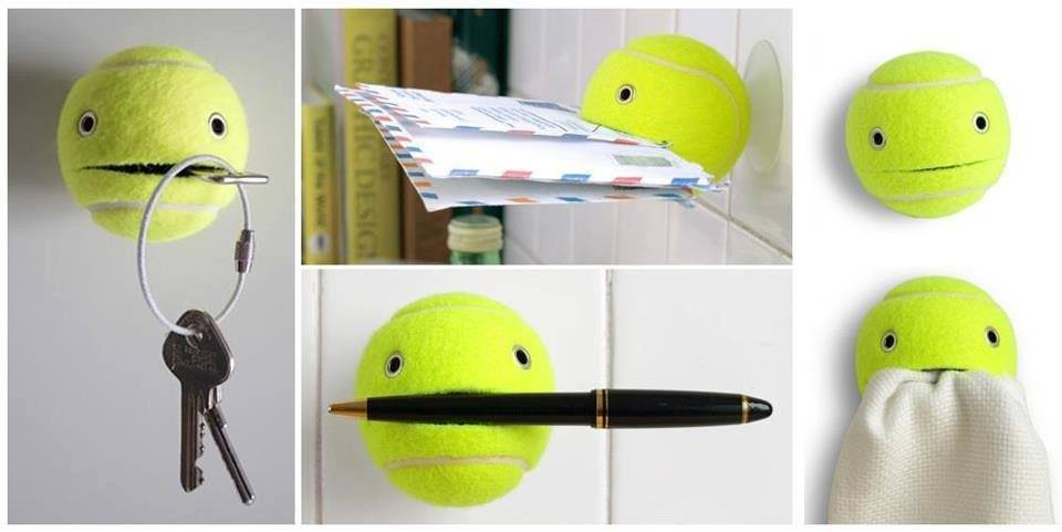 other uses of tennis balls