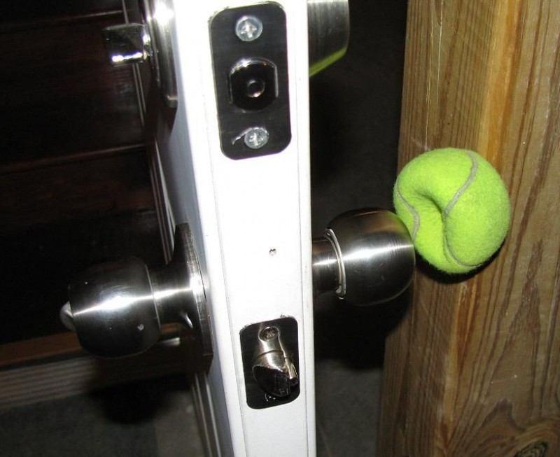 usos para bola de tenis 3