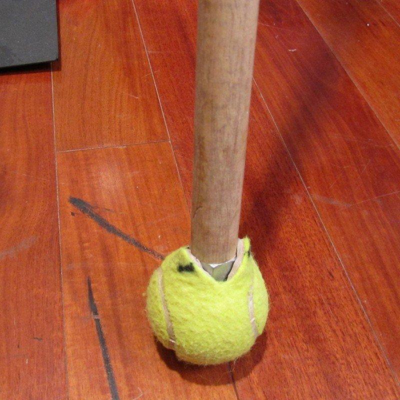 usos para bolinha de tenis 4