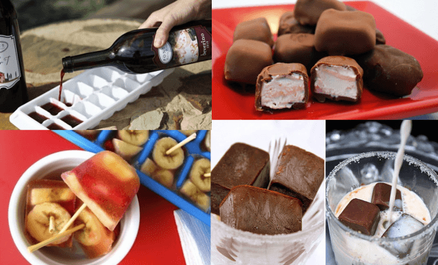 30 maneiras de aproveitar a forminha de gelo laricas sobremesas doces gordices