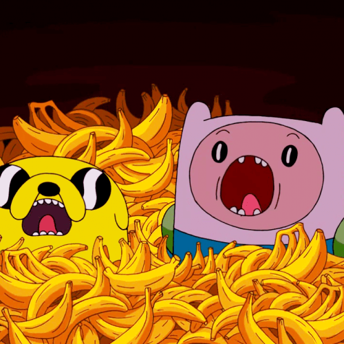 Finn_and_Jake_Bananas