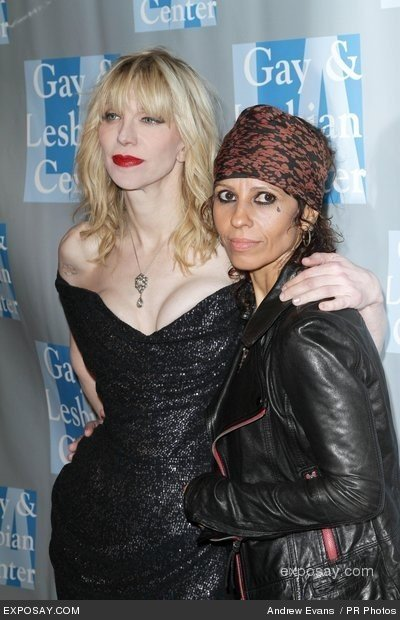Linda Perry e Courtney Love