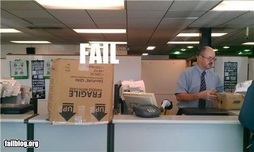 fail correio