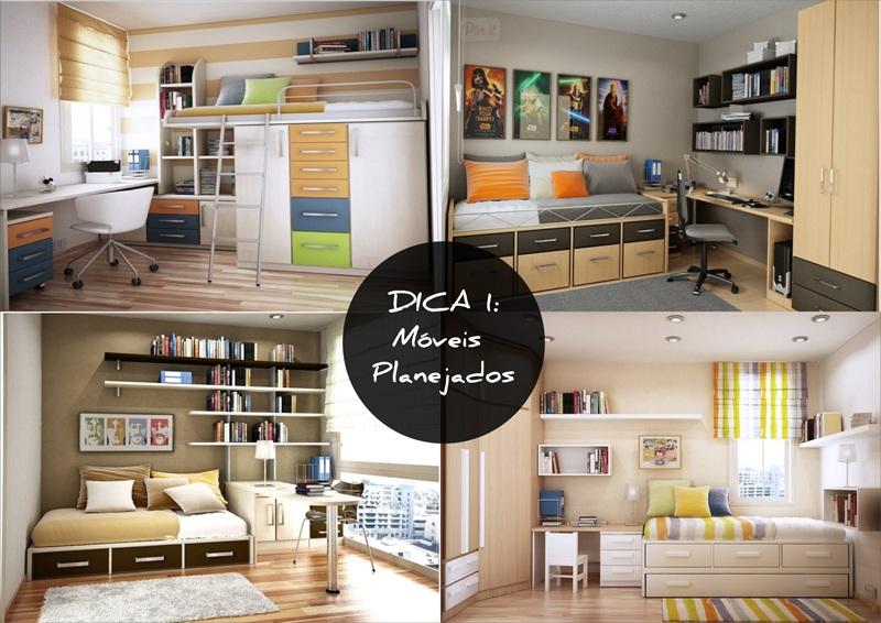 DICA-001 Dicas de decoração para espaços pequenos