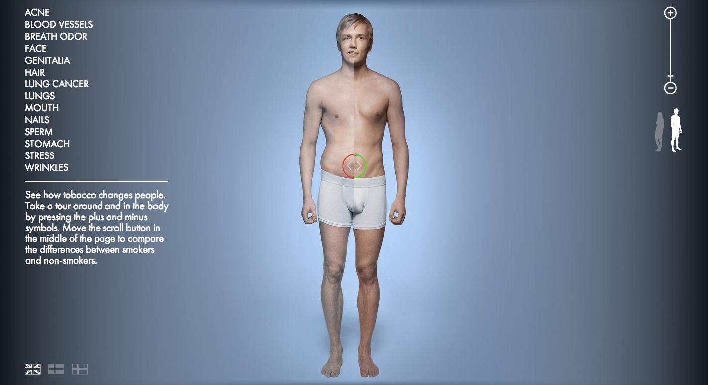 corpo de um fumante 1