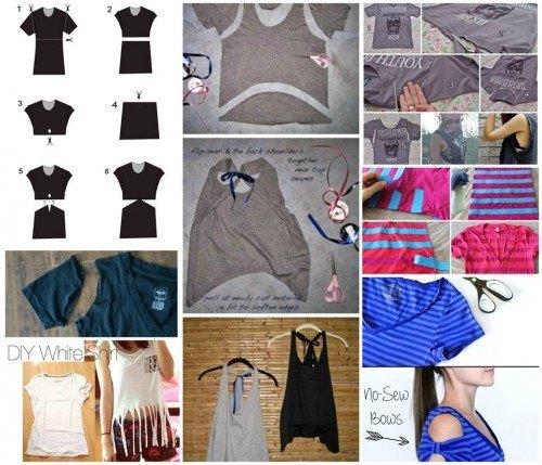 5014b679f 30 Sugestões e 5 idéias para Customizar Camisetas