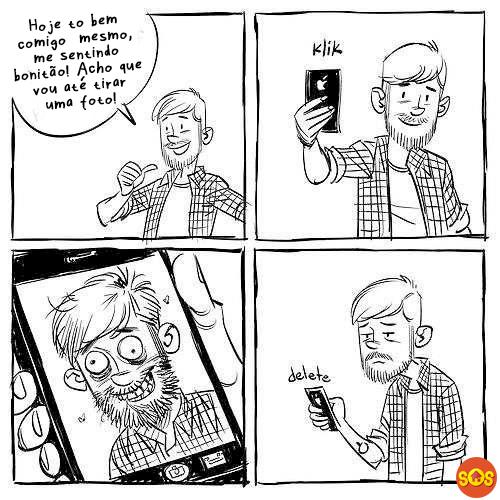 a verdade sobre as selfies