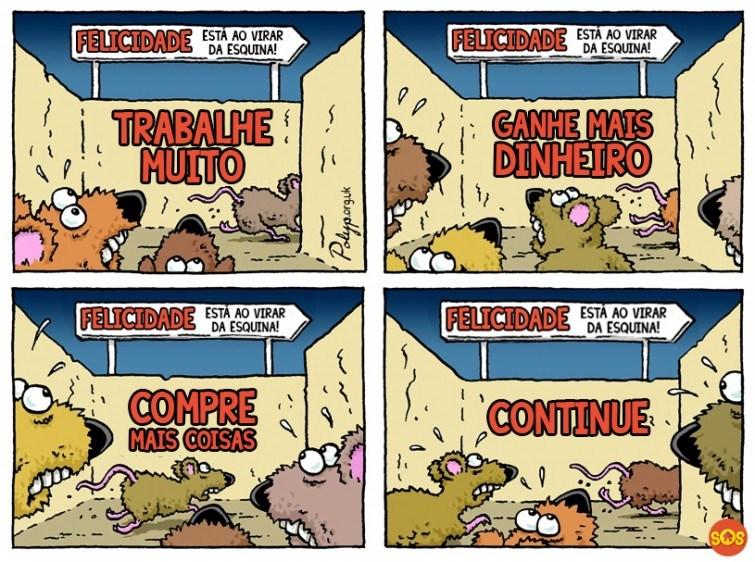 corrida do rato