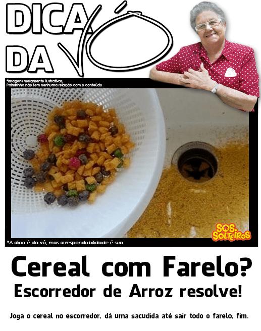 dica da vo cereal com farelo