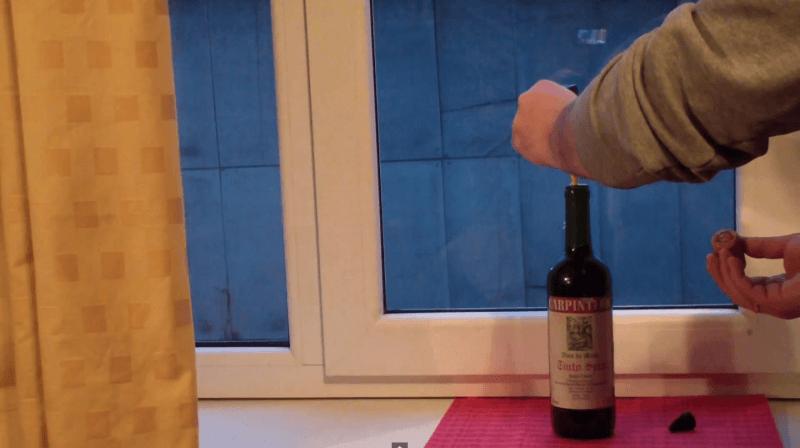 novo metodo de abrir a garrafa de vinho super cola 4