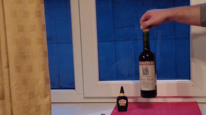 novo metodo de abrir a garrafa de vinho super cola 6