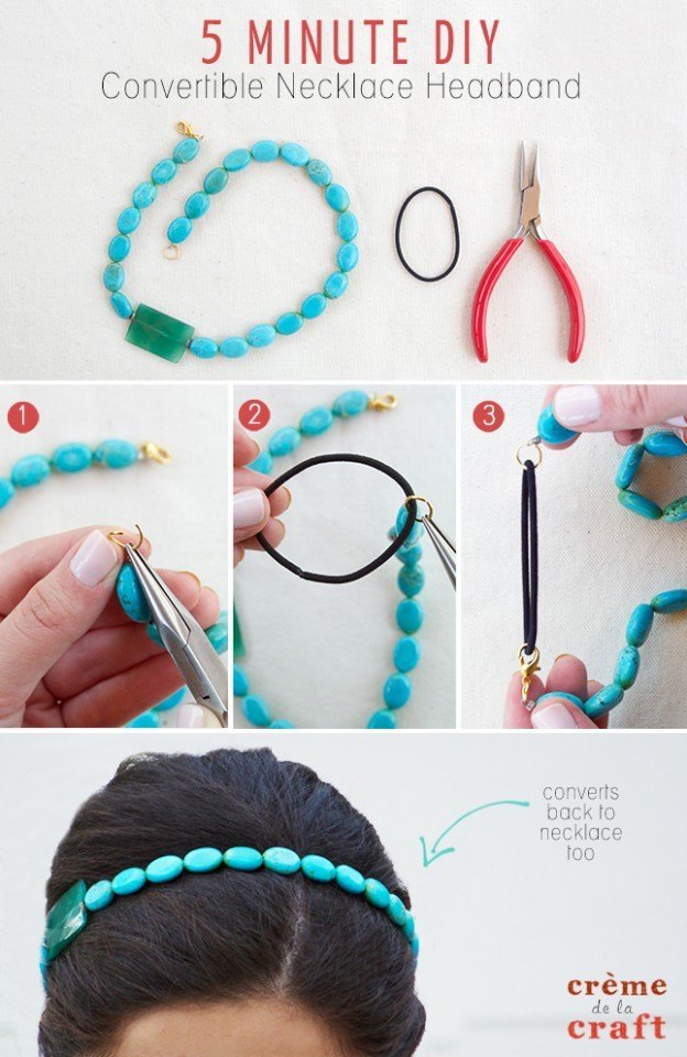 DIY-Convertible-Recycled-Necklace-Headband-Craft-Project-Jewelry-Accessories-Fashion-624x960