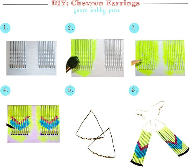 DIY-Project-Bobby-Pin-Earrings-Steps-2