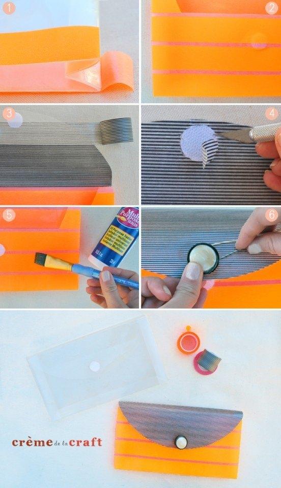 DIY-Washi-Tape-Clutch-Purse-Fashion-Craft-Project-552x960