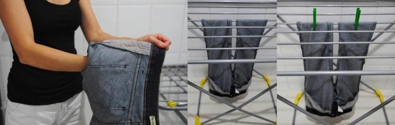 como evitar marcas ao pendurar a roupa para secar 2