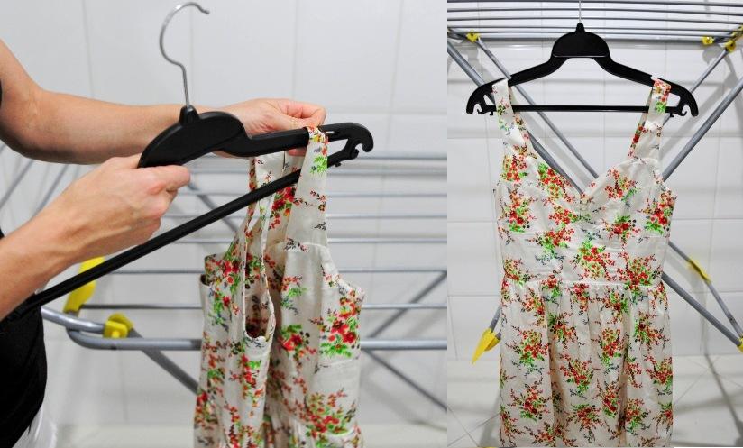 como evitar marcas ao pendurar a roupa para secar 9