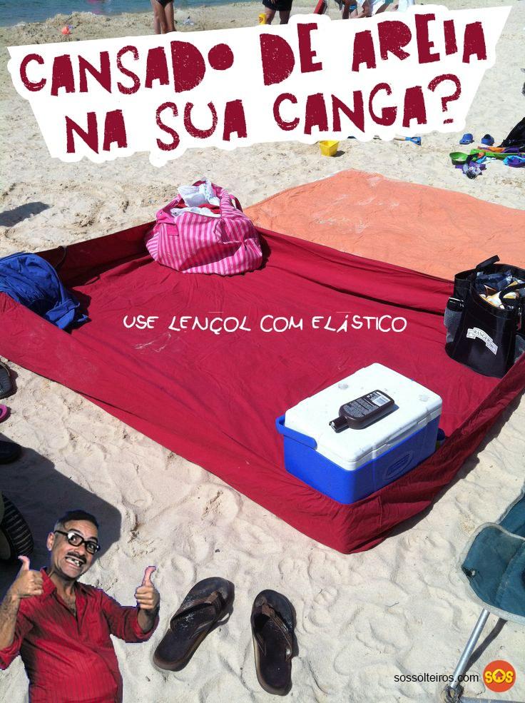 lencol com elastico evita areia na praia