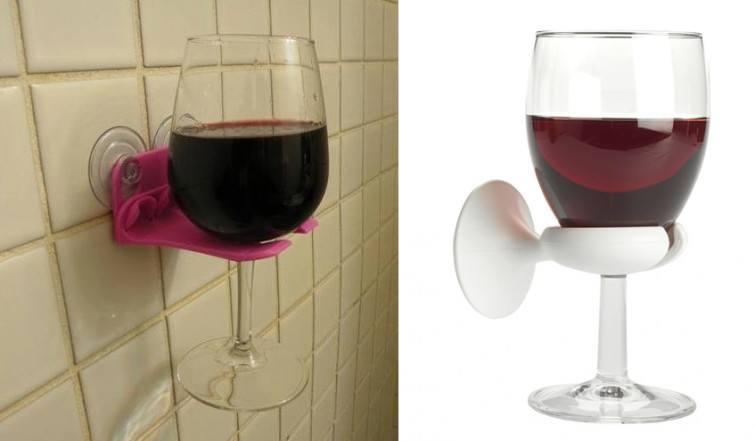 vinho no banho
