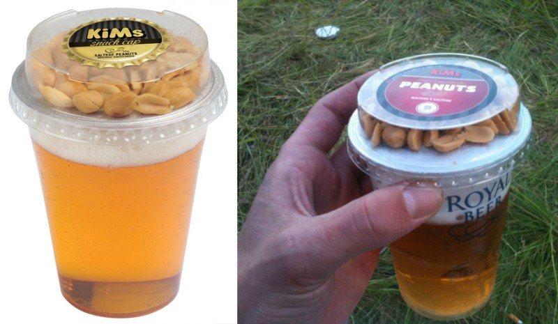 cerveja amendoim