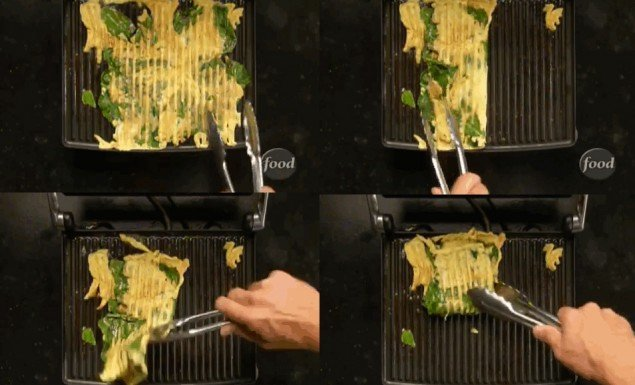 omelete no grill