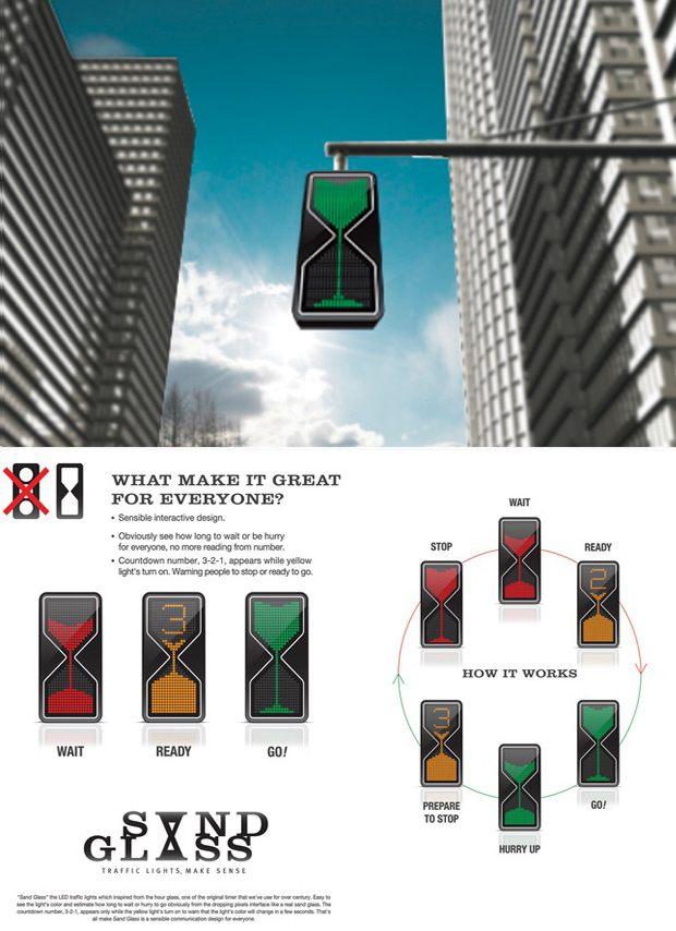 semaforo ampulheta