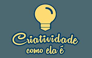 criatividade como ela e logo