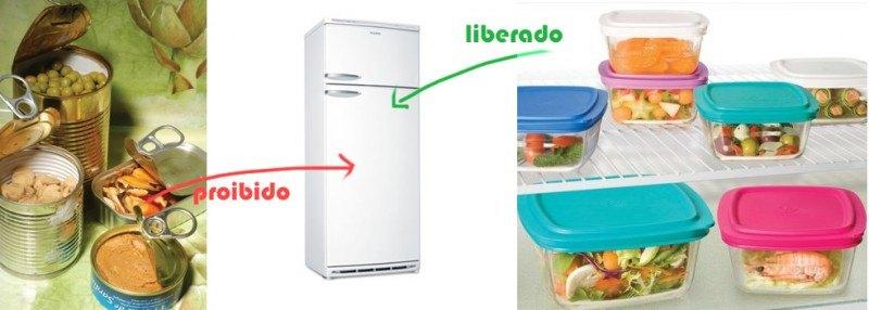 latas geladeira