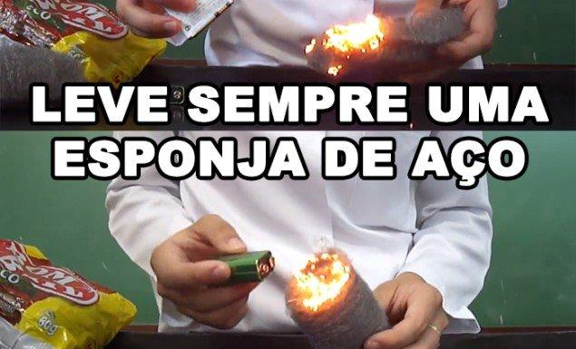 fogo-esponja-de-aco-bombril-bateria-pilha-celular