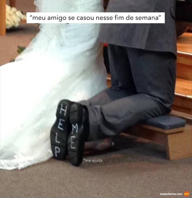 meu amigo se casou
