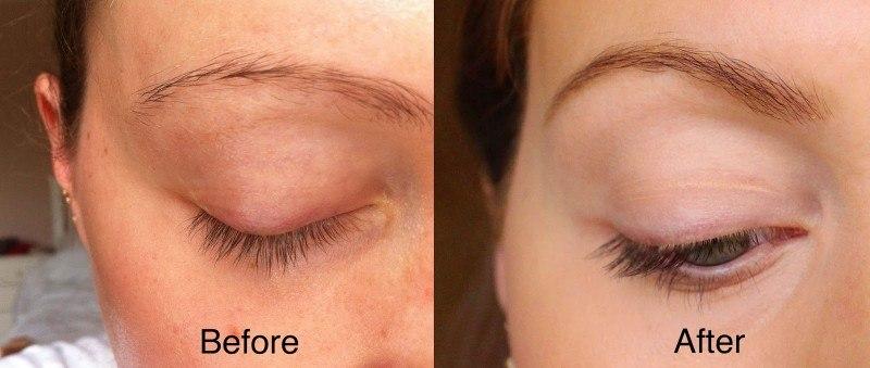 Eyebrow and Eyelash Dye Tint