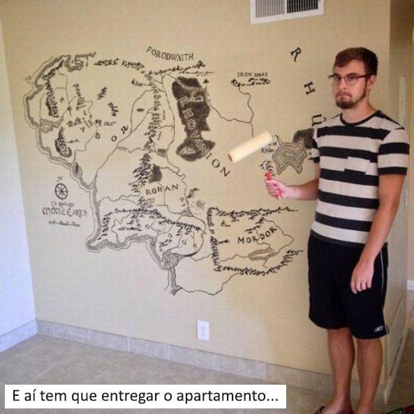 entregar o apartamento pintura