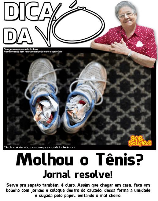 dica-da-vo-umidade-calçado-tenis-sapato-jornal