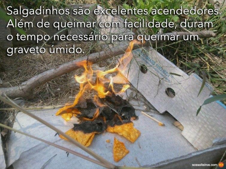 doritos salgadinho queima