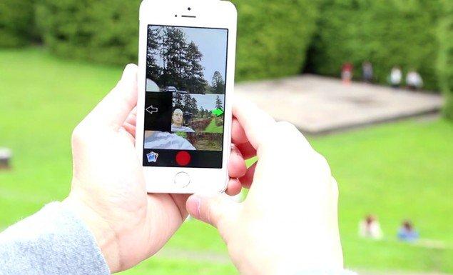 panoramica selfie
