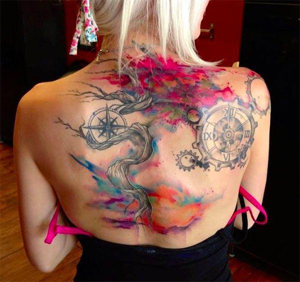 tatuagem tattoo aquarela watercolor inspiration inspiracao - ideia quente (16)